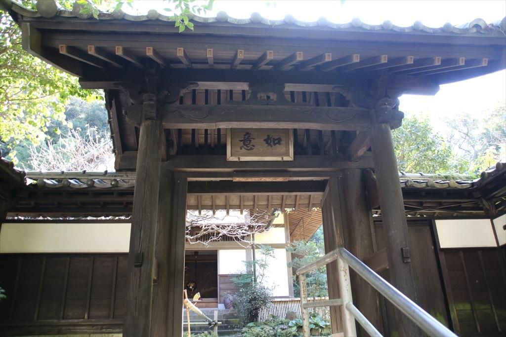 山門と玄関の様子_4