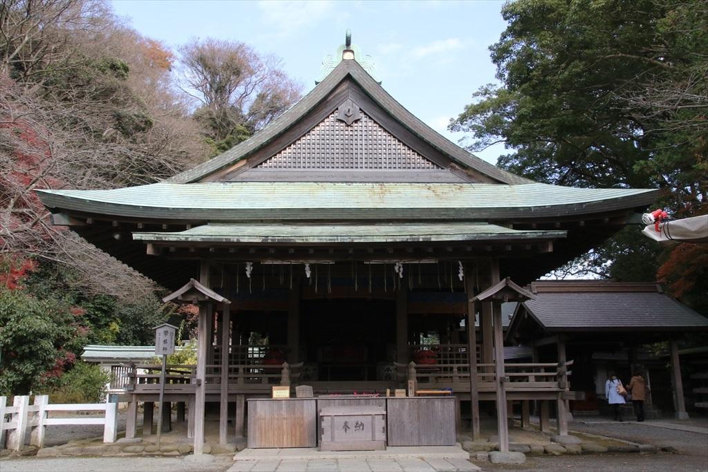 鎌倉宮_拝殿_2