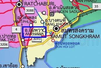 Amphawa map1