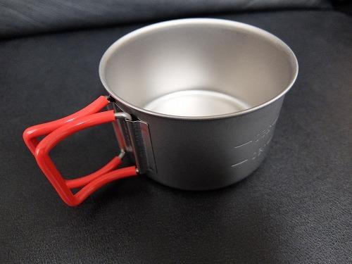 ウルトラライトなマグカップ、エバニュー400FD