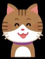 ネコ(笑顔1