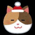 ネコ(クリスマス