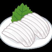 料理(イカ刺し