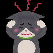 ネコ(頭痛