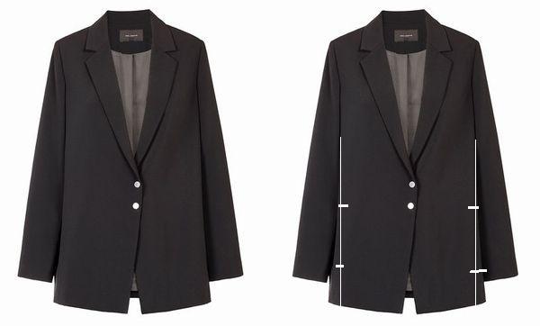 copジャケットポケット付け袖丈2