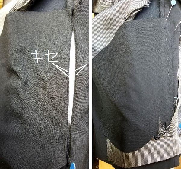 copジャケットポケット付け袖丈7