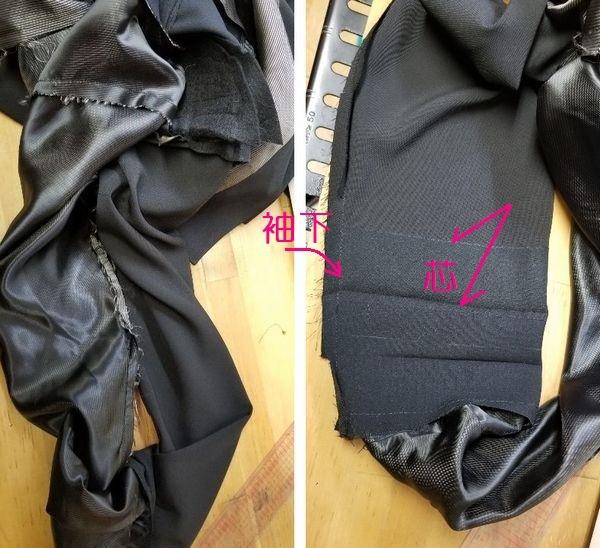 copジャケットポケット付け袖丈12