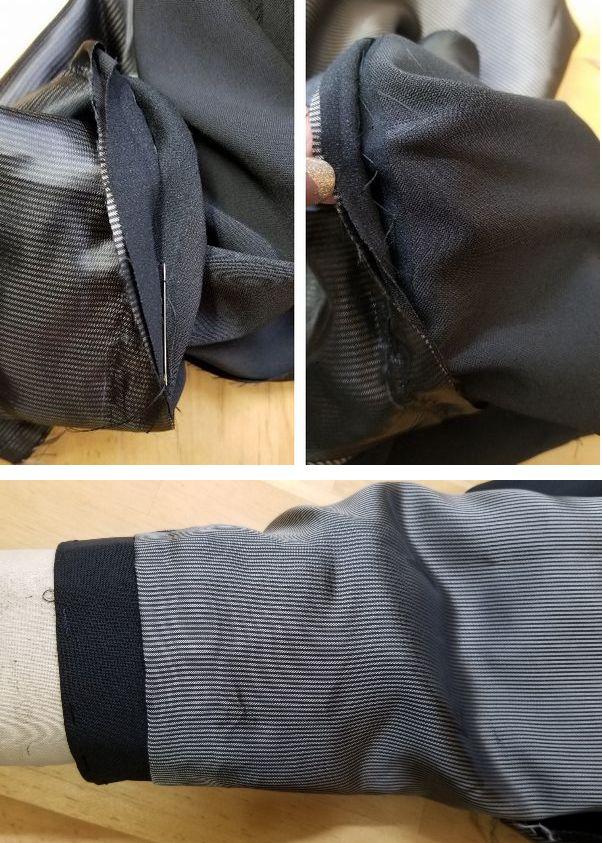 copジャケットポケット付け袖丈14