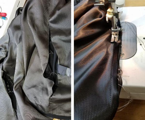copジャケットポケット付け袖丈15