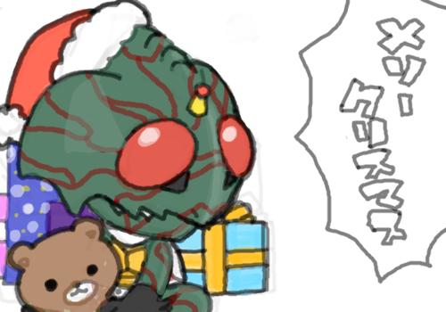 仮面ライダーアマゾンのクリスマス