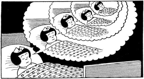 10ナンシーの夢の中の夢(Ernie Bushmiller)