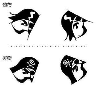 少年ジャンプの海賊マークを回転させると…