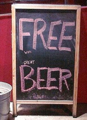 グレート・ビール/フリー・ワイファイ