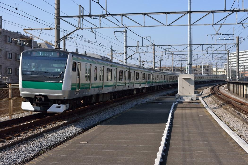 埼京線で鉄分補給