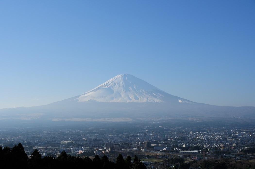 蔵出し写真~12月の冠雪富士