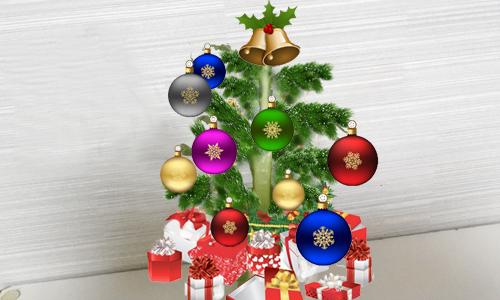 ちゃちゃのクリスマスツリー_1