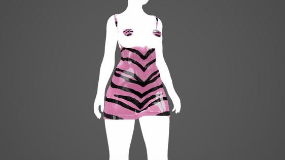 Latex_Pink_Zebra_Mini_Dress_UNPB_1.jpg