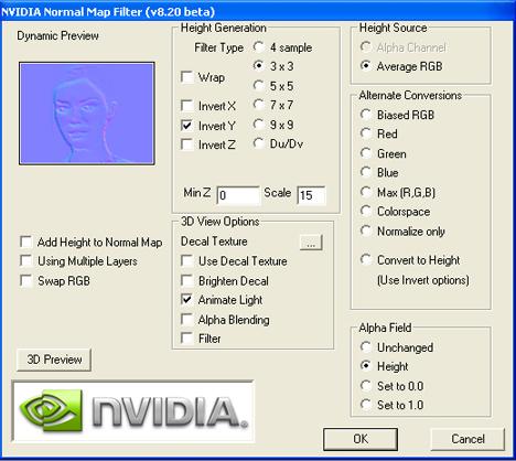 Photoshopcs6で法線マップ Normalmap Ľœæˆ Emotion