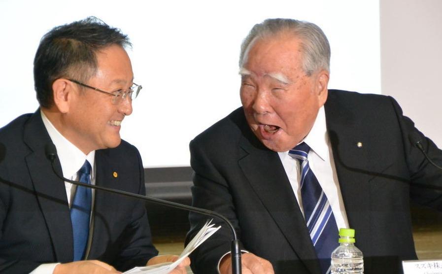 スズキ トヨタ 提携