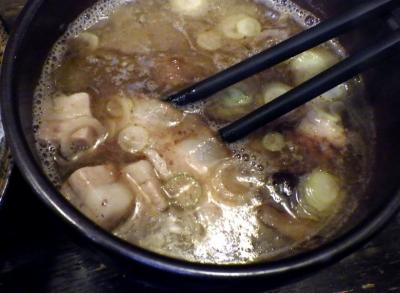 綿麺 13周年! つけ麺 大(つけ汁のアップ)