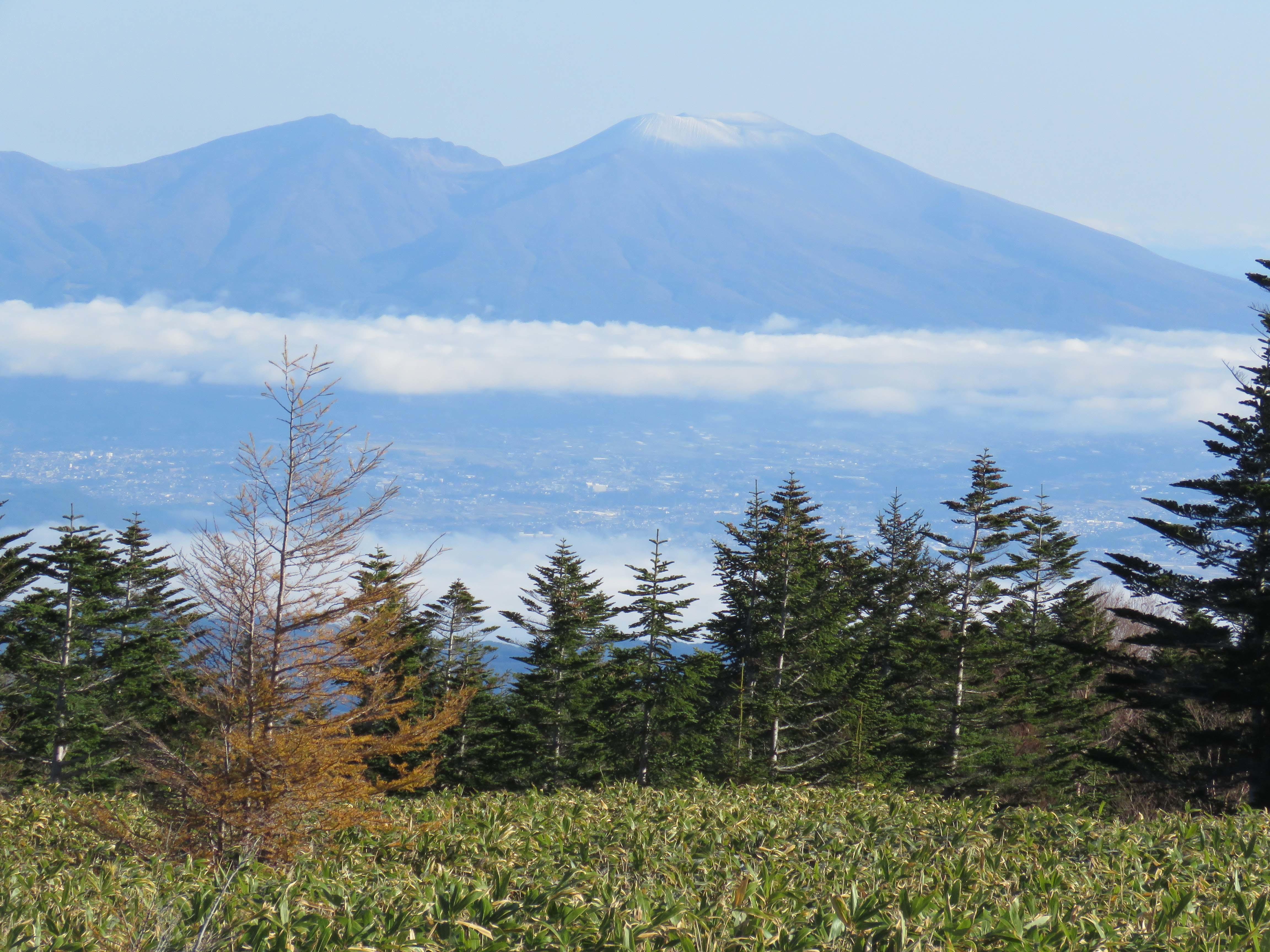 浅間山と雲海_181021