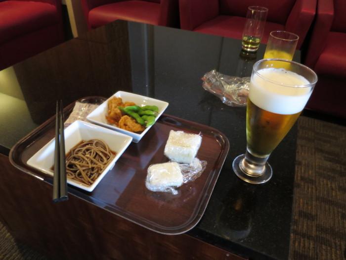 関西空港 飛鳥ラウンジ キャセイパシフィック利用