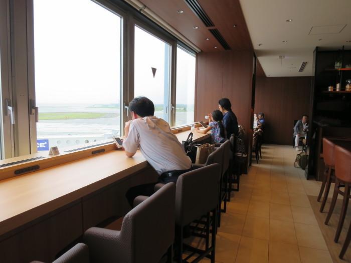 JAL サクララウンジ 新千歳空港