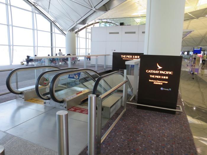 香港空港 キャセイパシフィックビジネスクラスラウンジ ザ・ピア