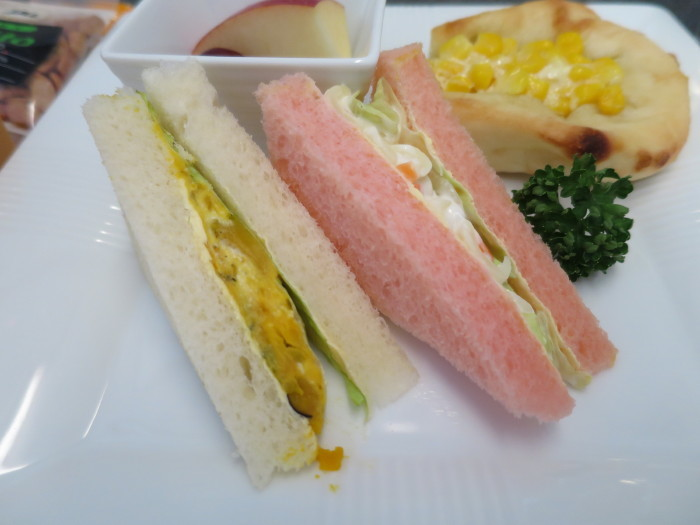 JAL 国内線ファーストクラス 機内食
