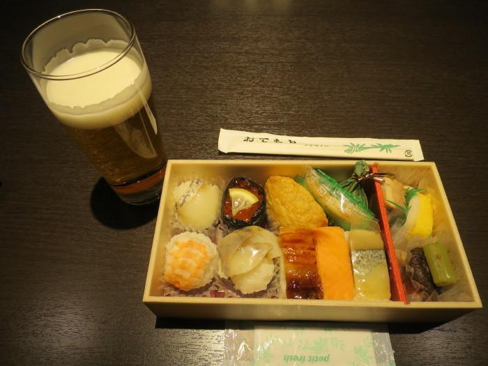 手まり寿司弁当「華の舞」 羽田空港