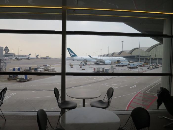 香港空港 キャセイパシフィックビジネスクラスラウンジ ザ・ブリッジ