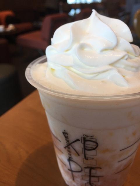 スターバックスコーヒージャパン ホワイトチョコレートピーチクリームフラペチーノ トール