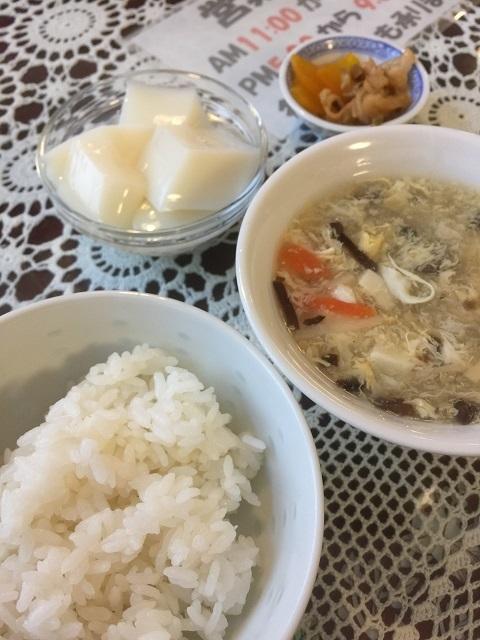 香港會食 海鮮楼 ご飯