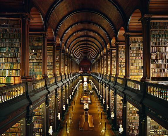 【アイルランド】トリニティーカレッジ図書館
