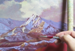 黄昏の烏ヶ山