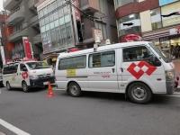 電気工事の緊急車両