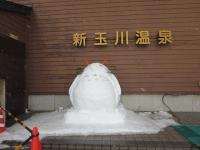 トトロの雪だるま