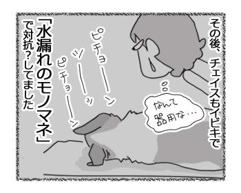 羊の国のラブラドール絵日記シニア!!「真夜中のモノマネ対決」5