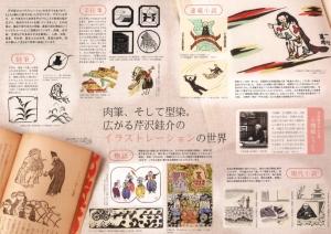 芹沢銈介のイラストレーション-1