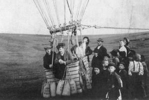 気球での実験