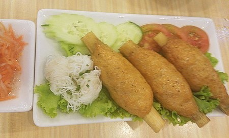 ベトナム料理 エビ