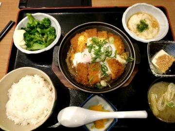 ヴィアHD いちげん カツ煮定食02 201612