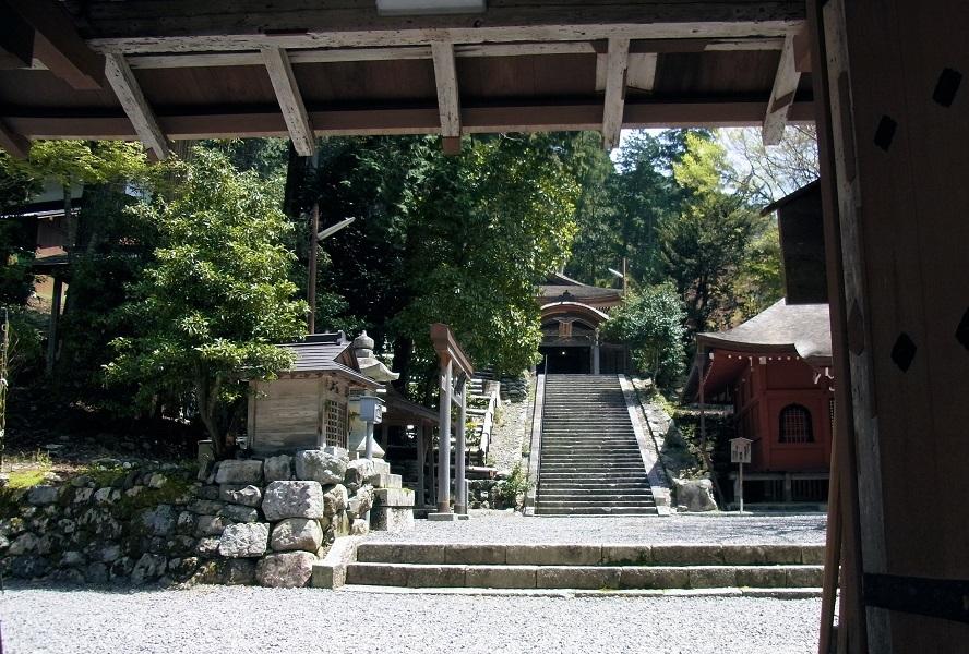 葛川明王院