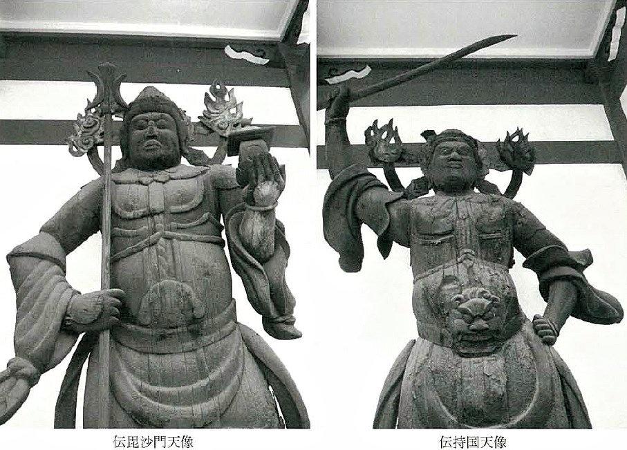 東京都荒川区・養福寺の二天像