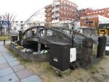 JR川内駅 川内橋モニュメント