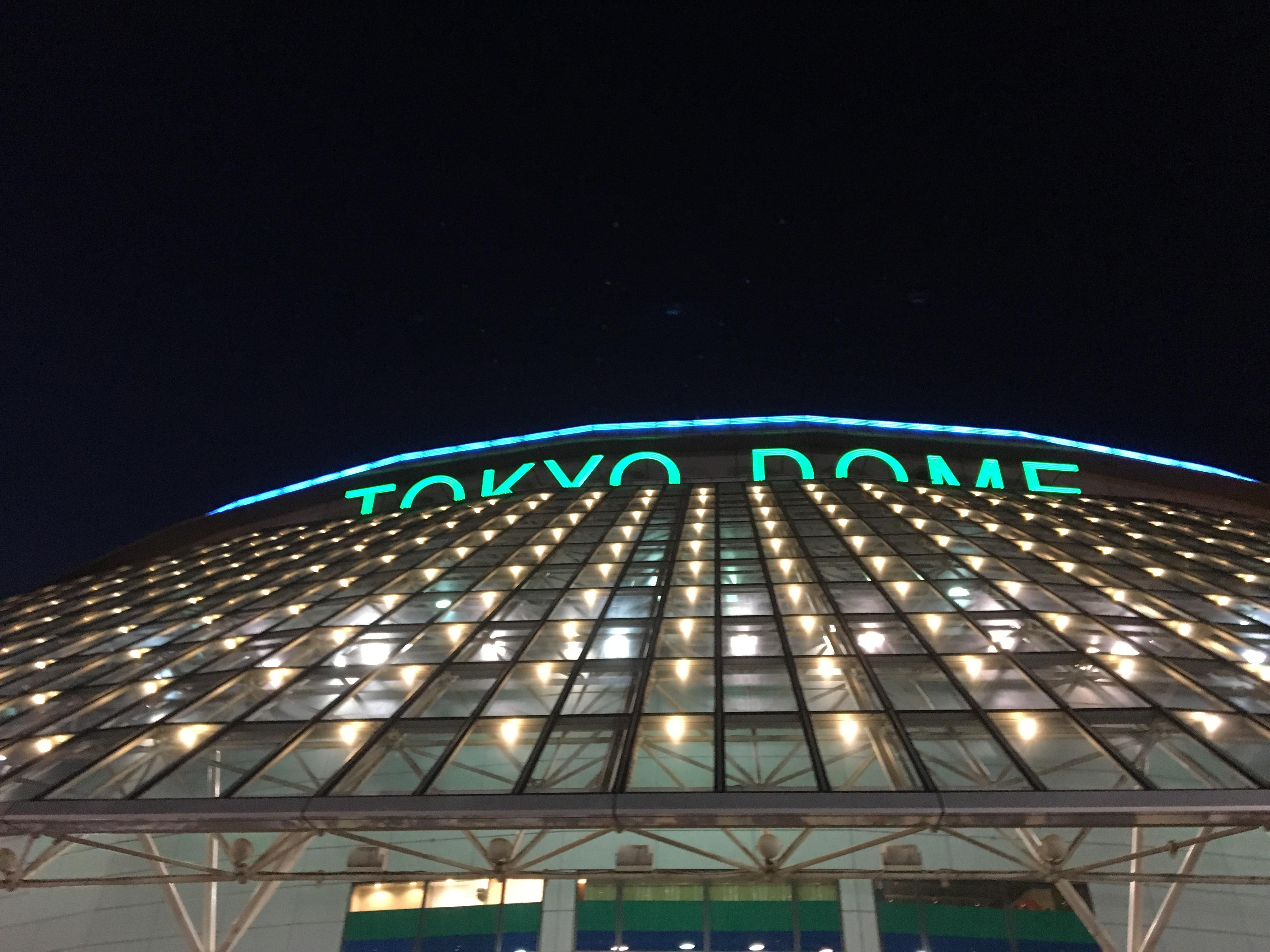 東京ドーム 12月28日