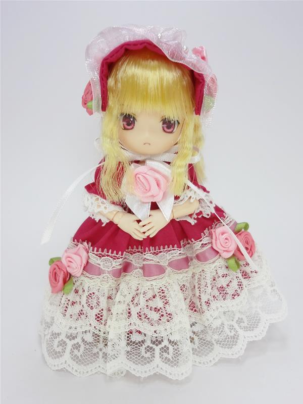 [黒月project] オビツ11 ドレスセット ピンク