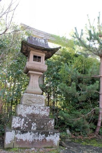 南参道の灯籠