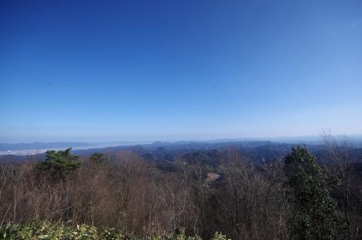 斐川平野から松江方面