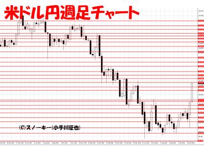 20161119米ドル円週足